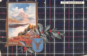Scotland, UK Old Vintage Antique Post Card Loch Maree The Mackenzie 1908