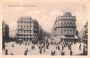 Bruxelles Belgium, Belgique, Belgie, Belgien Place de la Bourse Bruxelles Pla...