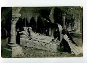 264059 NUN Monastery FUNERAL by BOYER-BRETON Vintage SALON