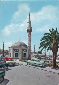 IZMIR, Turkey, 1950-1970´s; Konak Square, Classic Cars