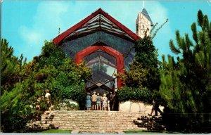 Wayfarer's Chapel Portuguese Bend Palos Verdes California Postcard
