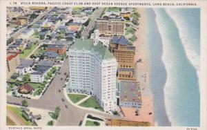 California Long Beach Villa riviera Pacific Coast Club & East Ocean Avenue Ap...