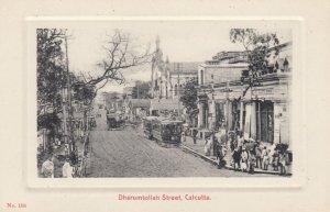 CALCUTTA , India , 00-10s ; Dharumtollah Street