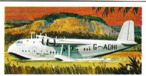 Trade Cards Brooke Bond Tea Transport Through The Ages No 38 Flying Boat