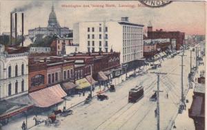 Washington Avenue Looking North Lansing Michigan
