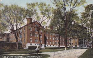 New Hampshire Hospital, Concord, New Hampshire, PU-1907