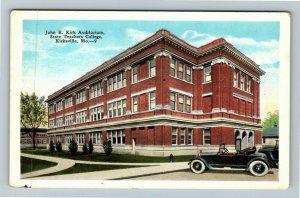 Kirksville MO-Missouri, John R Kirk Auditorium Teachers College Vintage Postcard