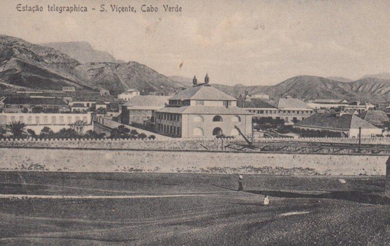CAPE VERDE , 00-10s ; Estacao telegraphica - S. Vincente