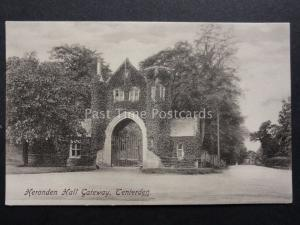 Kent: Tenterden, Heronden Hall Gateway - Old Postcard by Ridley of Tenterden