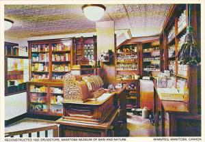 Canada Reconstructed 1920 Drug Store Manitoba Museum Of Man and Nature Winnip...
