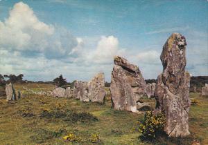 France Morbiham Megalithes de la region de Carnac