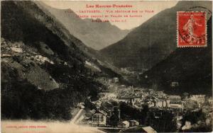CPA Cauterets - Vue générale, la Ville et Vallée de Lutour L'Ardiden (281252)