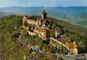 France La Chateau du Haut-Koenigsbourg, Alsace, Castle 755m