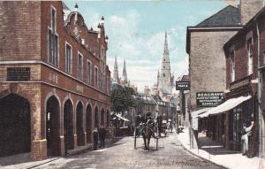 LICHFIELD , UK , 1906 ; Street view , Corn Exchange ; TUCK 4439