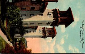 Florida St Augustine Hotel Alcazar Front Towers