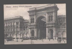 080874 ITALY Milano Galleria Vittorio Emanuele Vintage PC