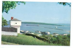Fort Mackinac Island Michigan MI Old Block House Vintage Postcard
