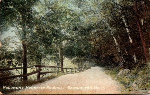 Massachusetts Great Barrington Monument Mountain Road 1915