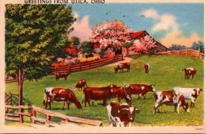 Ohio Greetings From Utica 1961