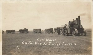 RP: SWIFT CURRENT , Sask., Canada , 00-10s ; Wheat Tractor Train