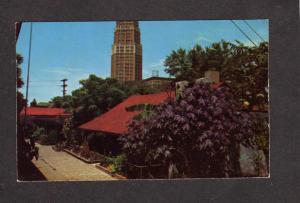 TX La Villita Town San Antonio Texas Postcard