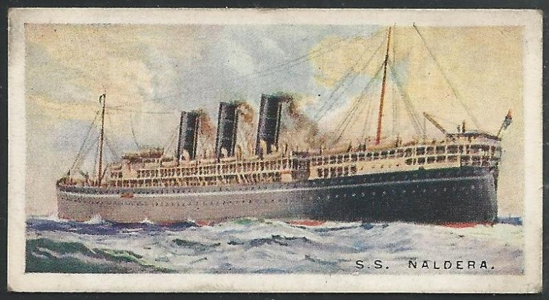 Canada 1924 Imperial Tobacco Mearchant Ships ot the World Cigarettes Card