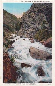 The Rapids Big Thompson Canon Rocky Mountain National Park Colorado