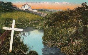 MONTEREY  , California, 1900-10s ; Padre Serra landing spot