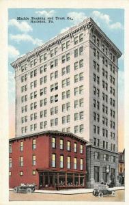 Hazleton Pennsylvania~Markle Banking & Trust~Clock~Store Window Display~1920s PC