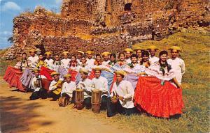Panama Old Vintage Antique Post Card Folklore Entertainers Canajagua Las Tabl...