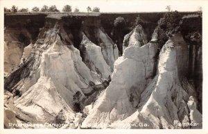 Lumpkin Georgia Providence Canyon Real Photo Vintage Postcard JH231077