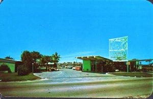 Ft Lauderdale FL -  Bon Soir Motel, 2731 U.S. 1, now called Budget Inn 1950s