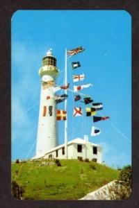 View Gibbs Hill Light Lighthouse BERMUDA Postcard PC