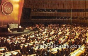 Pope John Paul II United Nations General Assembly, NYC, USA Unused