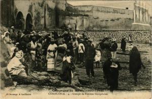 CPA CASABLANCA Groupe de Femmes Senegalaises MAROC (824544)