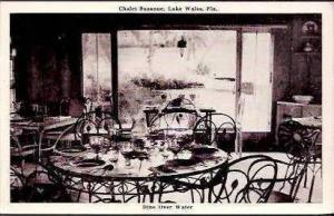FL Lake Wales Chalet Suzanne Dining Room