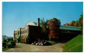1950s Lake Placid Olympic Arena, Lake Placid, NY Postcard