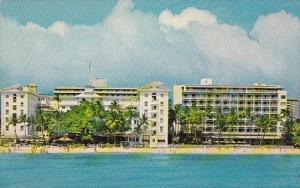 Hawaii Honolulu Moana Hotel In Hawaii On Waikiki Beach