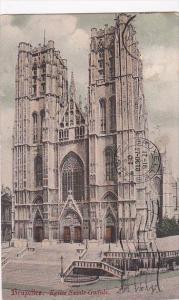 Belgium Brussels Eglise Sainte-Gudule 1907