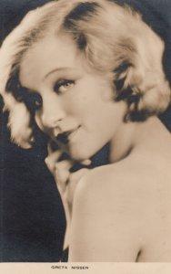 RP: Greta Nissen, 1910s - 1930s ; Actress