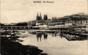 CPA Burgos Rio Arlanzon SPAIN (744050)