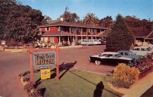 PARK CREST MOTEL Monterey, California Hwy1 Roadside Vintage Postcard ca 1950s