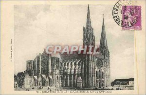 Postcard Old Chartres (E and L) The Cathedral (from the twelfth to sixteenth ...
