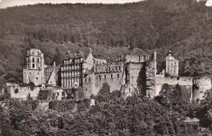 Germany Heidelberg Das Schloss 1957 Photo