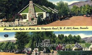 Moana Auto Apts & Motel in Reno, Nevada