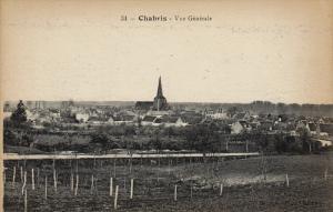 CHABRIS, Vue Generale, Indre, France, 00-10s