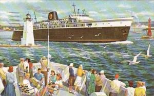 C & O's SS Badger 1967