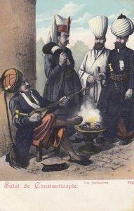 Salut de CONSTANTINOPLE , Turkey , 1898-1907 ; Les Janissaires