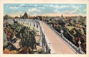 5340 CA Pasadena  1920's Colorado Street Bridge