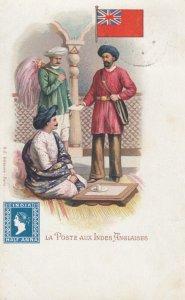 La Poste Aux Indes Anglaises , India , 1902